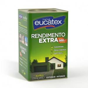 Acrilico Extra Rendimento Eucatex Branco 18L