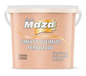 CIMENTO QUEIMADO PEROLIZADO MAZA ROSE GOLD