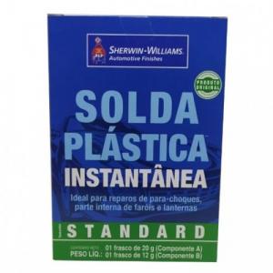 Solda Para Plastico Instantânea Lazzuril Standard 32G