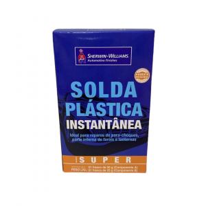 Solda Para Plastico Instantânea Lazzuril Super 75G