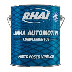 PRETO FOSCO VINILICO RHAI 600ML