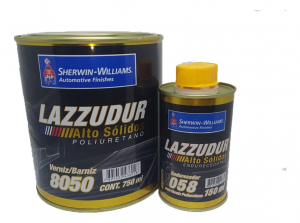 Verniz Pu 8050 Alto Solidos Lazzuril