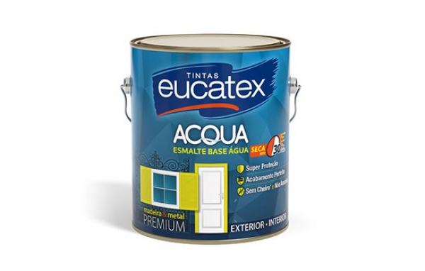 Esmalte Base Agua Eucatex