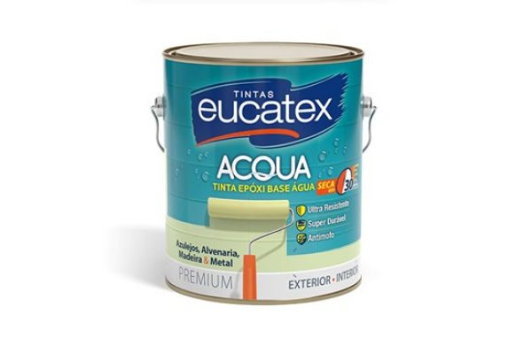 Esmalte Epoxi Base Agua Eucatex