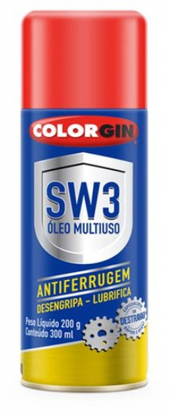 Spray Lubrificante Colorgin SW3