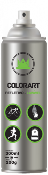 Spray Colorart Refletivo Lavavel
