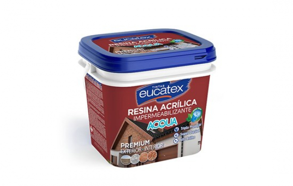 Resina Acrilica Base Agua Eucatex