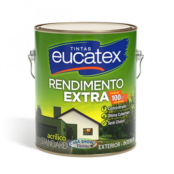 Acrilico Extra Rendimento Eucatex Branco 3,6L