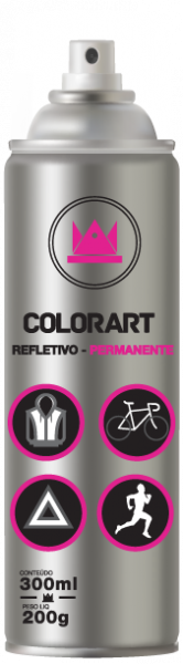 Spray Colorart Refletivo Permanente