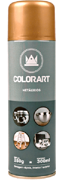Spray Colorart Metalicos