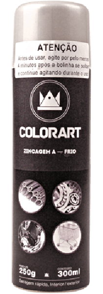 Spray Colorart Zincagem a Frio