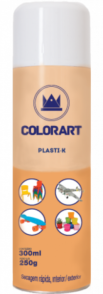 Spray Colorart Plasti-k