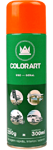 Spray Colorart Uso Geral
