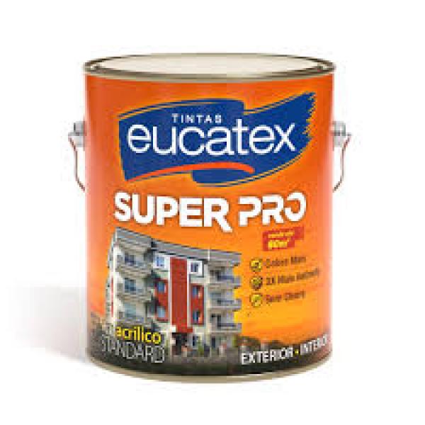 Acrilico Super Pro Eucatex Branco