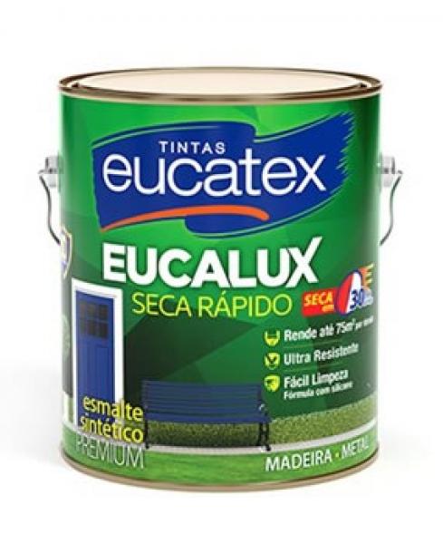 Esmalte Eucatex Seca Rápido Premium Cores Pronta
