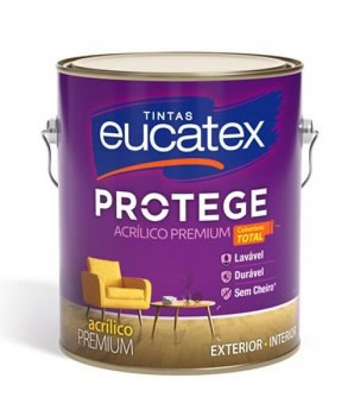 Acrilico Fosco Protege Eucatex 3,6L Cores Prontas