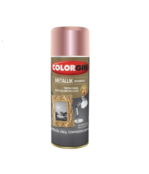Spray Colorgin Metallik