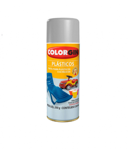 Spray Colorgin Plastico