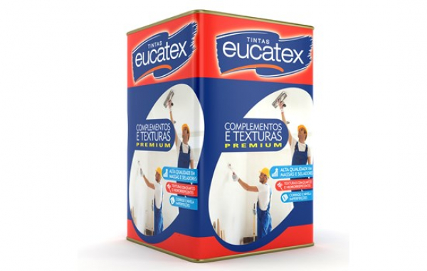 Textura Acrilica Eucatex Desenho 23kg
