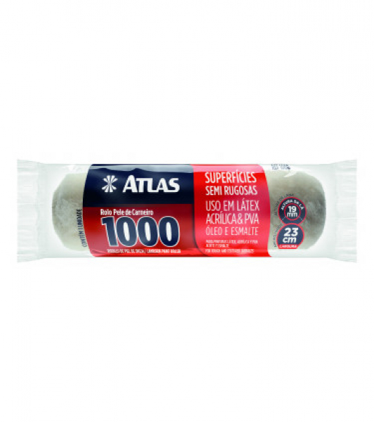 Rolo Pele de Carneiro 1000 Atlas