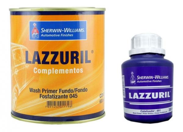 Fundo Fosfatizante Wash Primer C/Catalisador Lazzuril