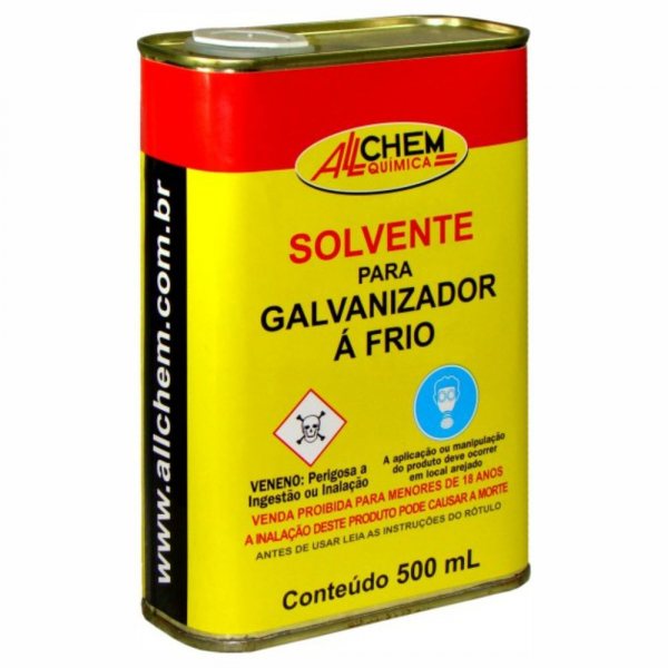 Diluente para Galvanizado a Frio Allchem 500ml