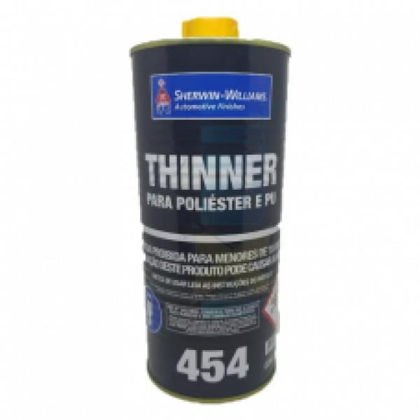 Thinner para Poliester e PU 454 900ml