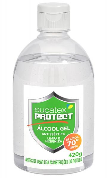 Alcool Gel Protect Eucatex 500ml