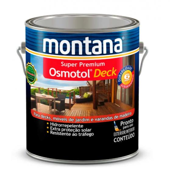 Verniz Osmotol Deck Montana 3,6L