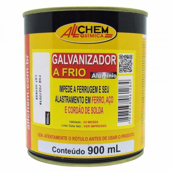 Galvanizado a Frio Aluminio Allchem 900ml