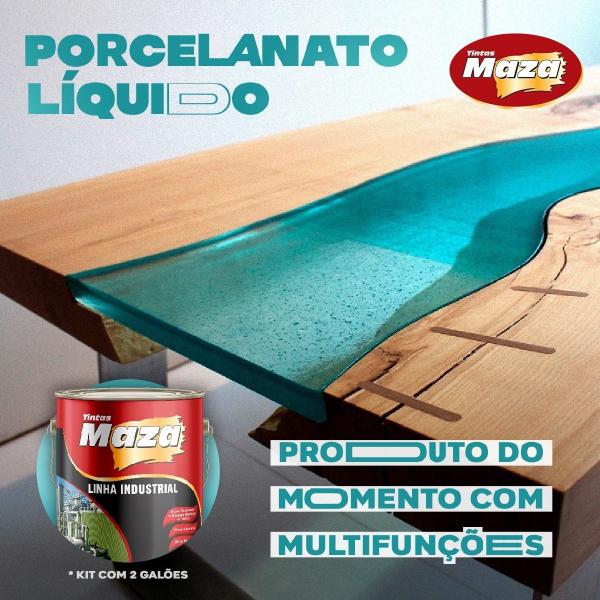 Kit Porcelanato Liquido Maza