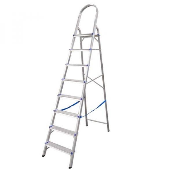 Escada Aluminio Real 8 degraus