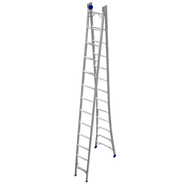 Escada Aluminio Extensiva 12x2 Real