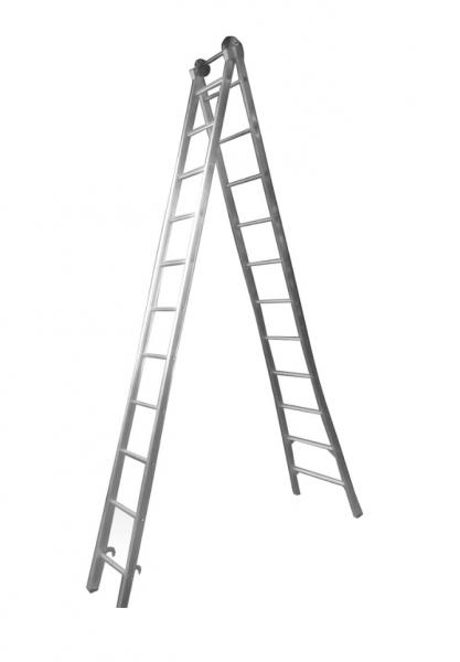 Escada Aluminio Extensiva 11x2 Real