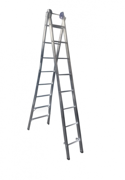Escada Aluminio Extensiva 8x2 Real