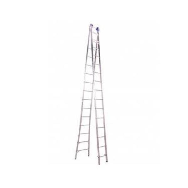Escada Aluminio Extensiva 15x2 Real