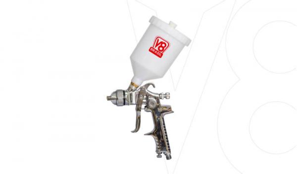 Pistola Gravidade V8 HVLP8 Plus
