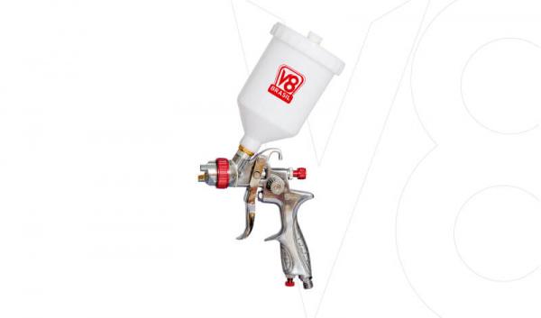 Pistola Gravidade V8 HVLP14