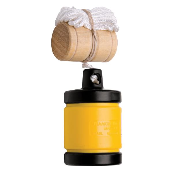 Prumo 500 g Tramontina em Aço com Revestimento Externo em Plástico e Cordão de Nylon