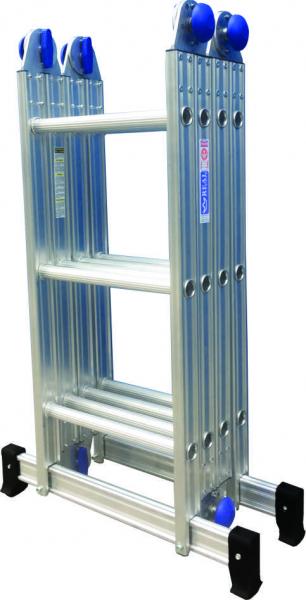Escada Articulada Alumino Real 4x3