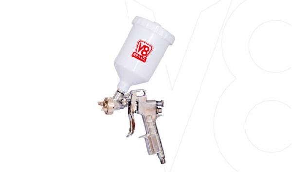 Pistola Gravidade V8 PP3