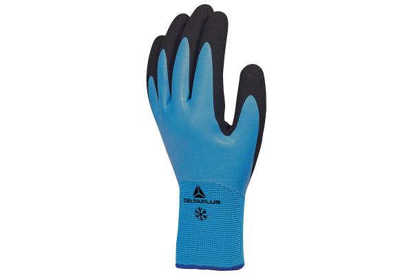 Luva Poliamida/Latex Delta Plus Thrym Azul