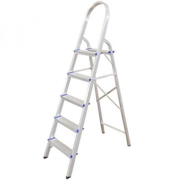 Escada Aluminio Real 5 degraus