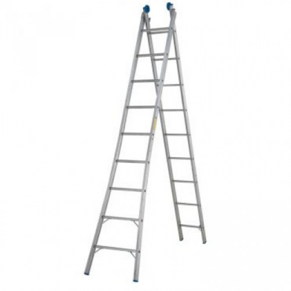 Escada Aluminio Extensiva 9x2 Real