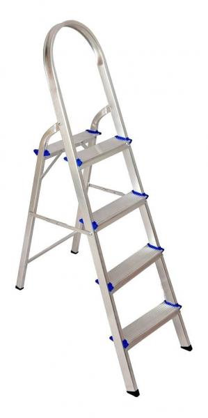Escada Aluminio Real 4 degraus