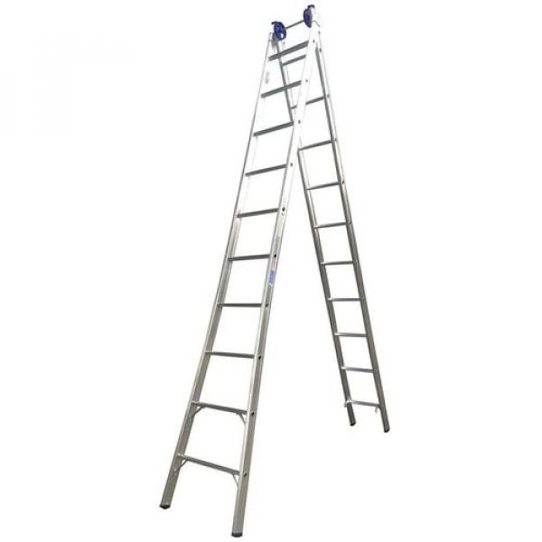 Escada Aluminio Extensiva 10x2 Real