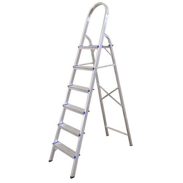 Escada Aluminio Real 6 degraus