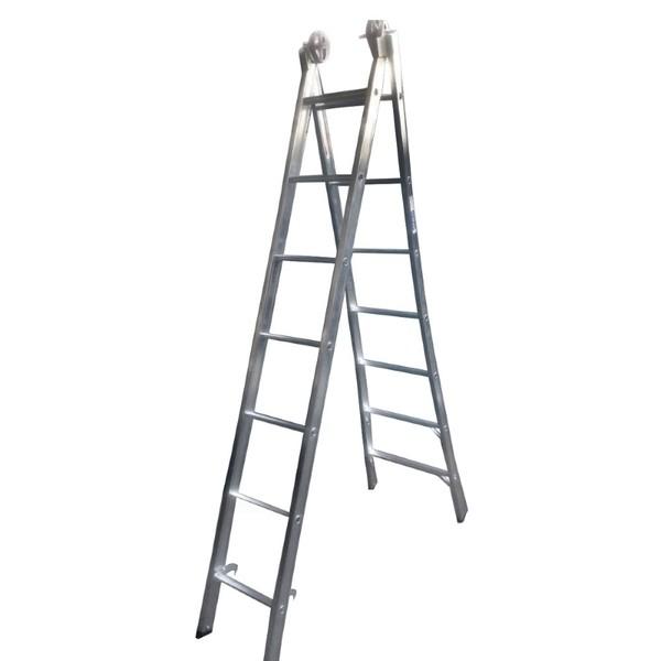 Escada Aluminio Extensiva 7x2 Real